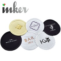 Disposable custom printed paper beer drinks coasters bar cup pad coaster
