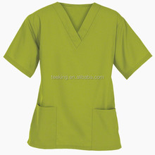 OEM short sleeve v neck hotel manager uniform