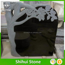 SHS Professinal Black Red Granite Tombstone Small Tombstone Wholesale Gravestone Factory With Good After-sale Service