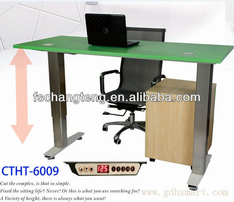 Istanbul & Moscow & Saint Petersburg Electric lifting office table furniture