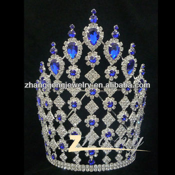 Newest design shining wedding pageant crown