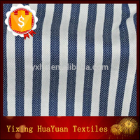 blue and white stripe cloth drilling y/d cloth for shirting
