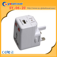 CERATIVE INNOVATIVE corporate gifts universal travel plug adapter with USB charger