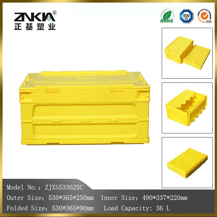 light duty yellow colour plastic containers & boxes wholesale direct from factory