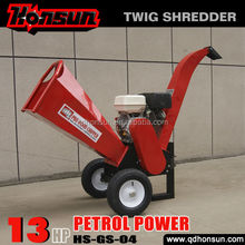 Europe standard CE approved Honda Briggs&Stratton engine best hot sale wood chippers for sale canada