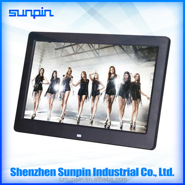 10 inch hot selling digital photo frame photo play picture music mp4 video