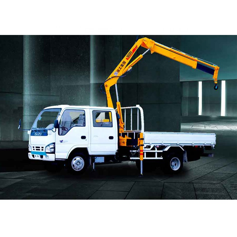 SQ3.2ZK1 jual 3 ton small pickup truck hydraulic crane for sale