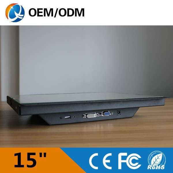 led 15 inch used computer parts LCD monitor in good condition