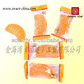 Fruit shape soft chewy candy