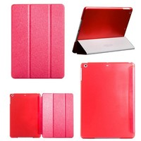 Simple colorful laether flip cover for ipad mini 2 case