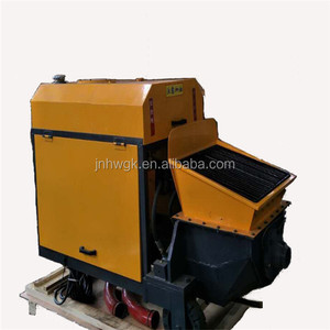construction machinery concrete pumps , high quality movable mini concrete pump