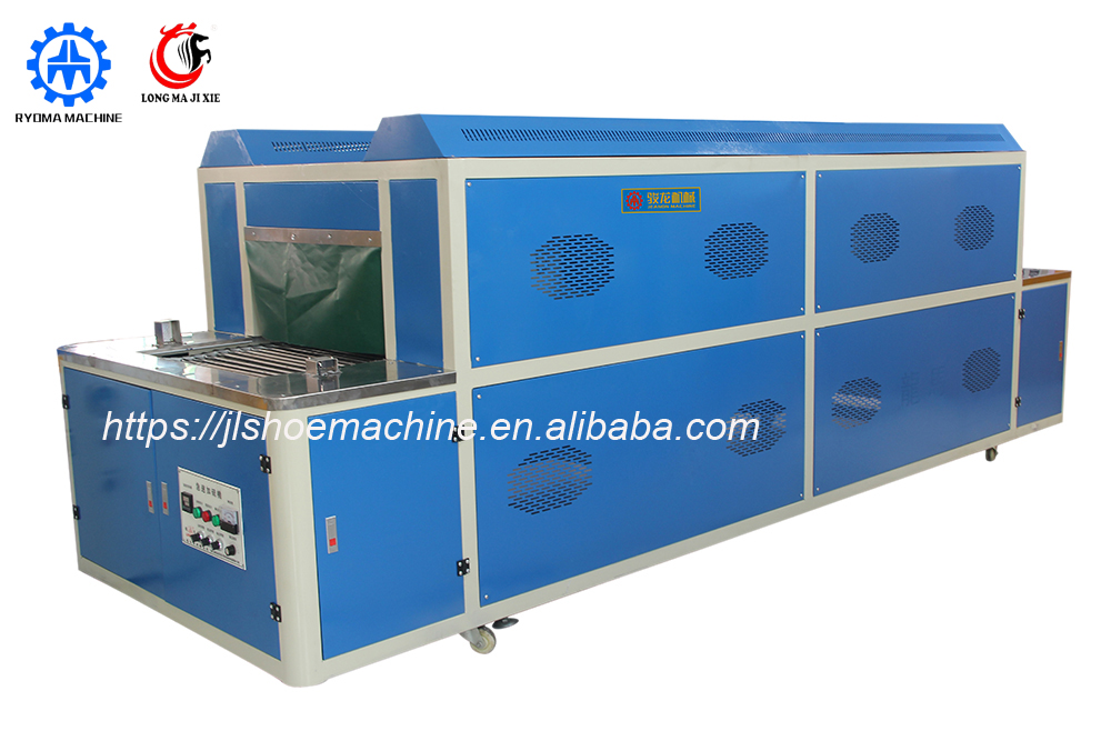 LM-293 Quick Heat Setting Machine vulcanize machine shoe making machine