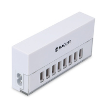 Manufacturer Supplier 1.5M Cable Length multiport usb wall charger