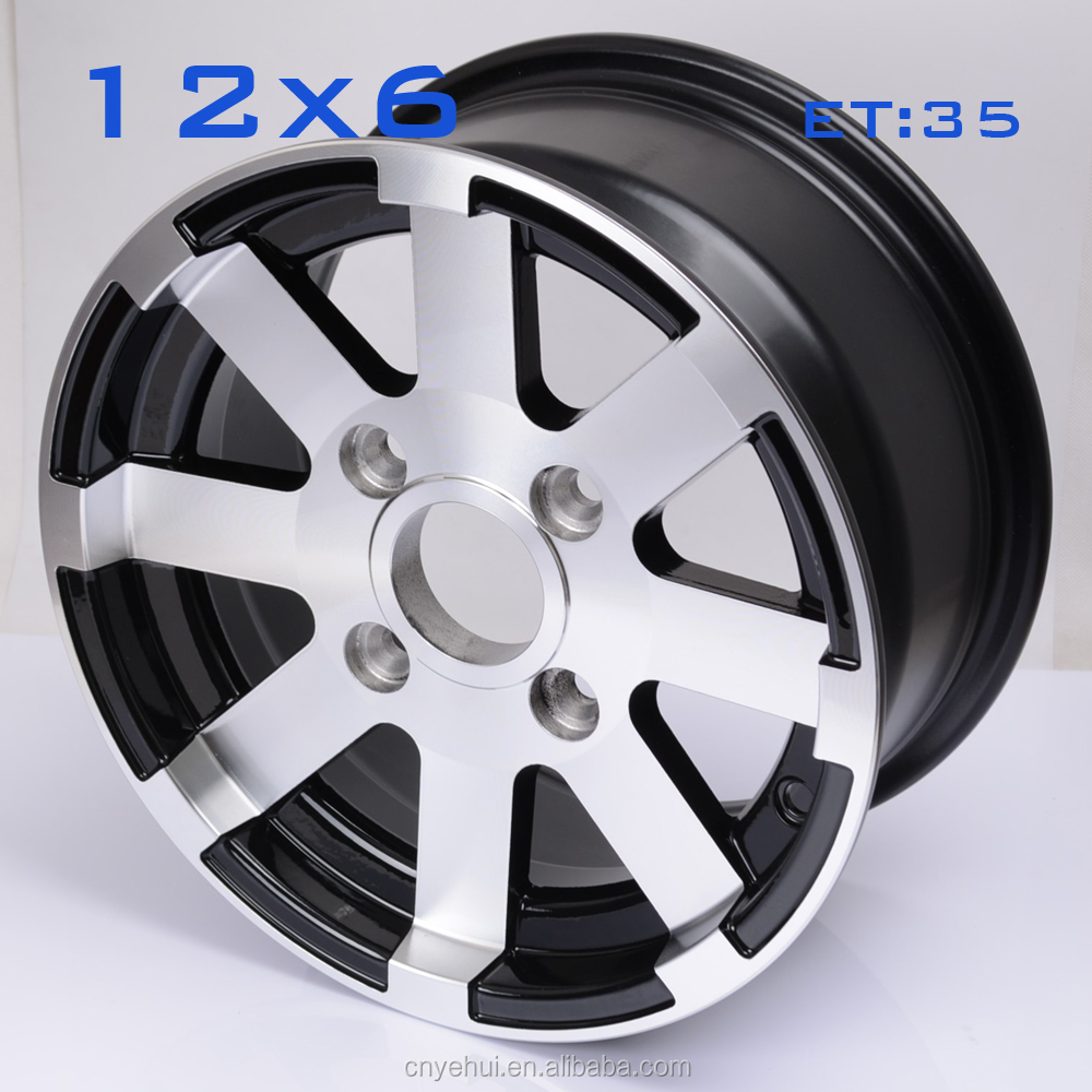 12 inches atv/utv/golf cart aluminum alloy wheel