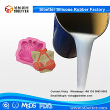 Food Grade Liquid Silicone Rubber Raw Material for Silicone Soap Mold