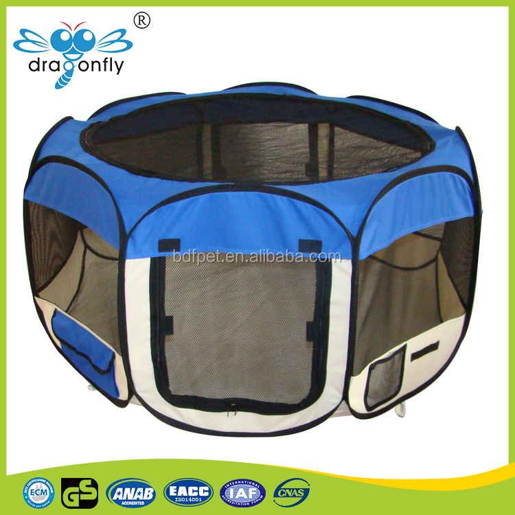 blue Wholesale cheap dog playpen