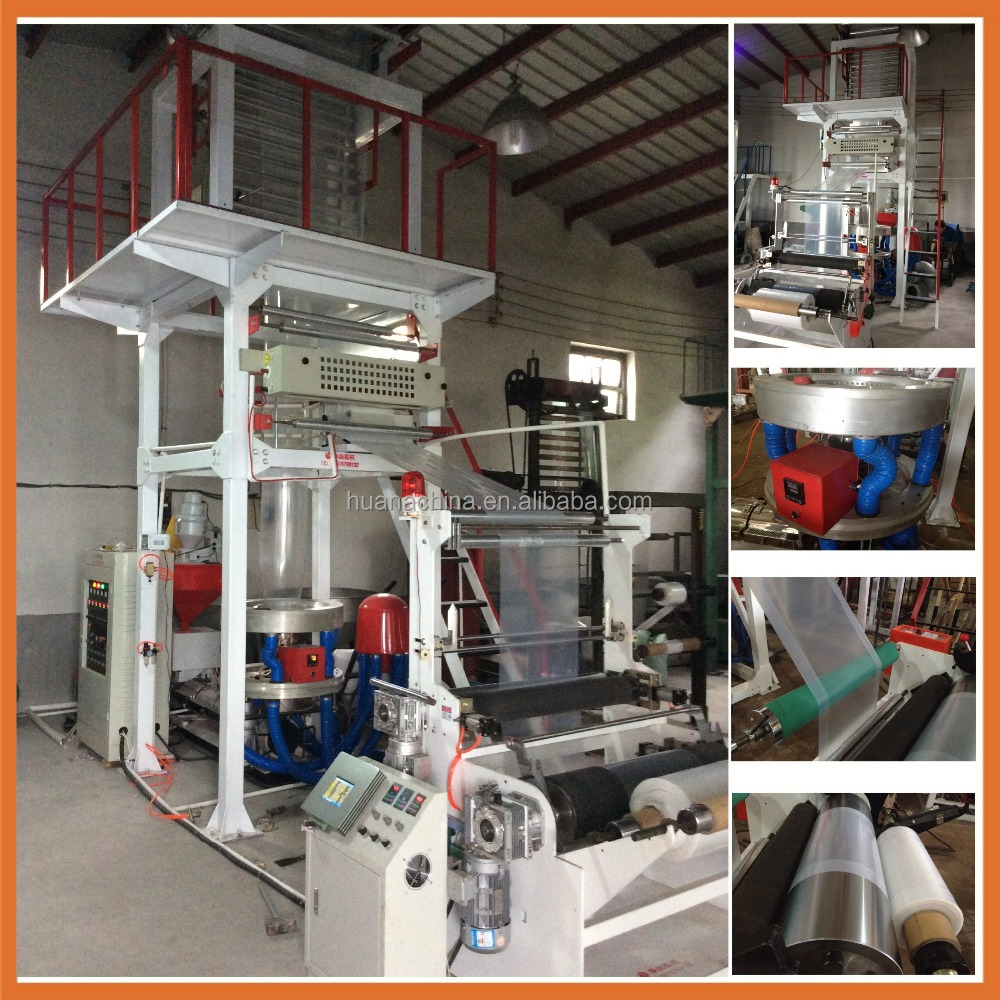 Automatic Film Blowing Machine Automatic Plastic Blow Film Machine Film Blowing Machine Extruder