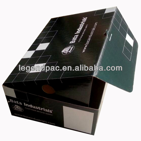 easy assembled cardboard box flap/corrugated paper packaging box
