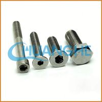 bearing stainless steel hex socket m4 screw dimensions