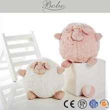 High Quality cute sheep round plush toy