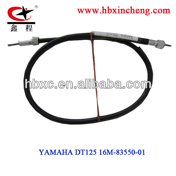 motorcycle speed cable DT125 for Colombia,motorcycle spare parts