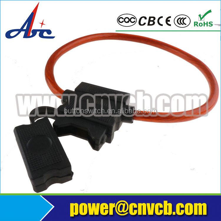 Circuit Standard Blade Fuse Box with led Fuse Block Holder For Car Truck Van