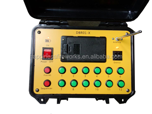 Factory price 24 channels 500M remote control sequential happinesss fireworks firing system