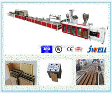 JWELL - Wpc Floor Twin Screw Extruder Machine Plastic/wood Floor Making Machine/wood Plastic Composite Production Line