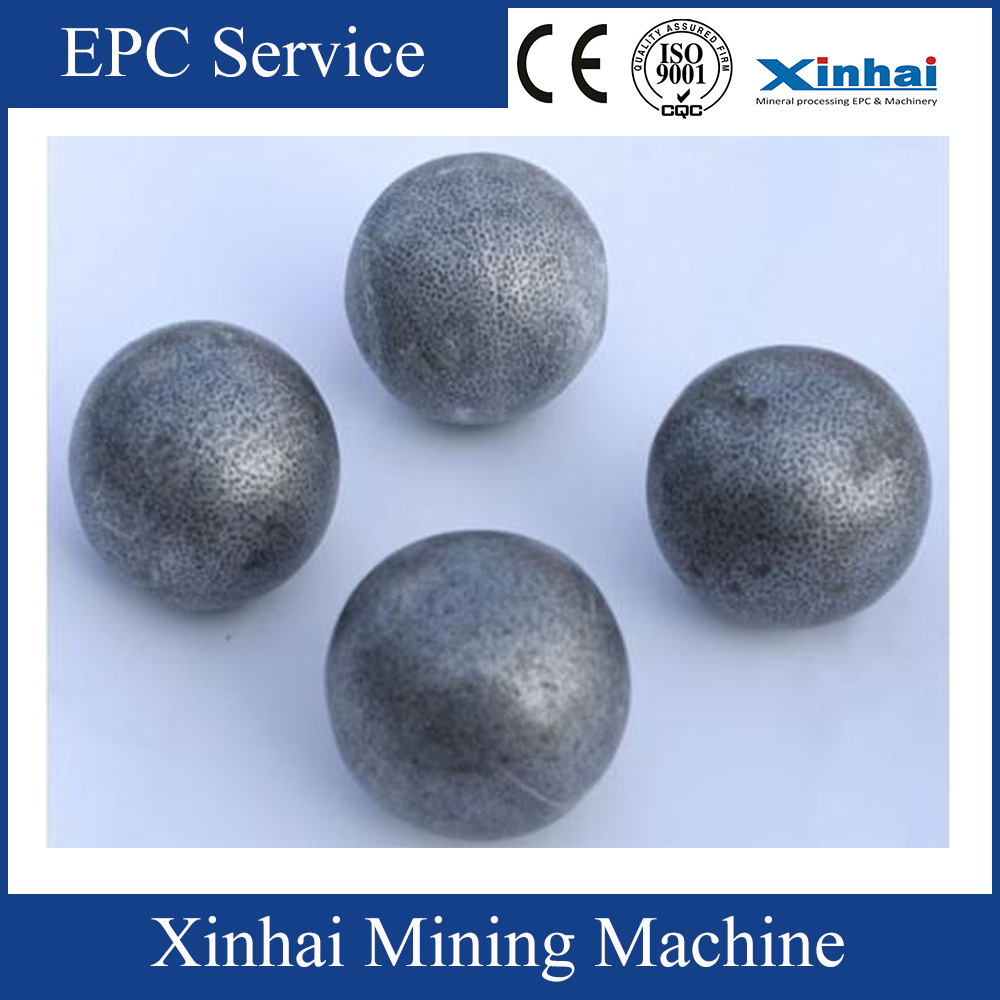 China Mining 3% Chrome Alloy grinding media lron cast steel ball in ball mill