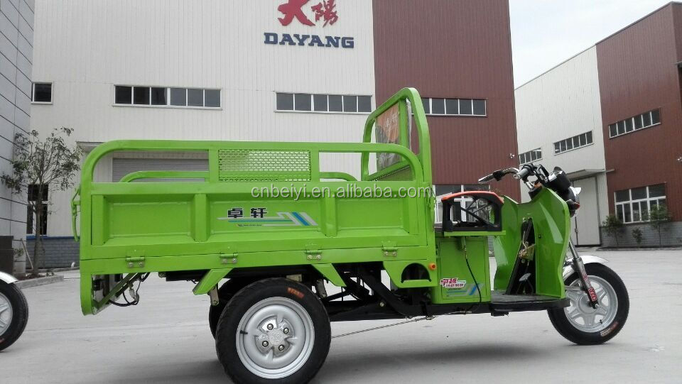 2016 new designed hot sale high quality 1000W Delivery Electric cargo Tuc Tuc three wheel motorcycle On Sale