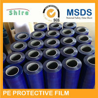 High Quality PE Plastic Protective Film For Pre-Painted Alu-Zinc Steel Sheets, Pre-Painted Alu-Zinc Steel Sheets Protective Film