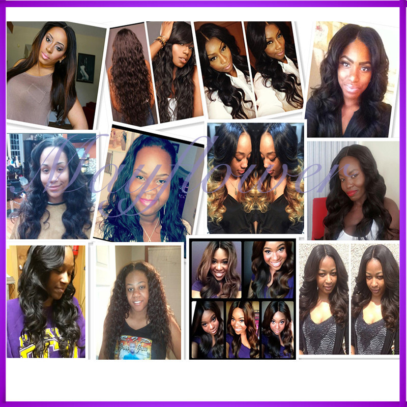 Trade assurance Brazilian body wave virgin hair wig glueless full lace wig natural hairline