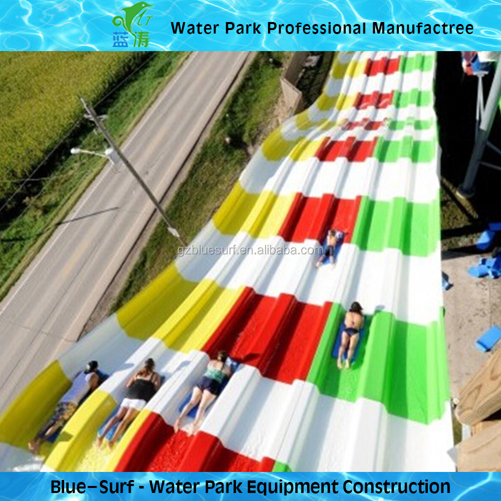 Big Rainbow Fiberglass Water <strong>Slides</strong> for Sale Adult Park Equipment
