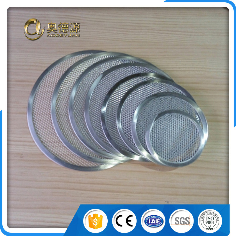 High flow rates easy cleaning pizza screen / pizza pan screen mesh / Aluminum pizza mesh pan