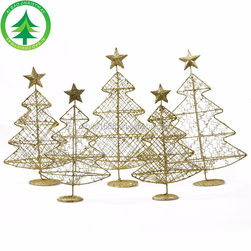 Christmas Ornament , Xmas tree shape metal hanging decoration, christmas decoration
