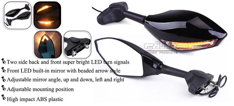 BJ-RM-016A side Mirror Motorcycle for Yamaha YZF R1