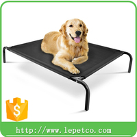 factory wholesale dog accessories Outdoor foldable pet bed iron pet bed