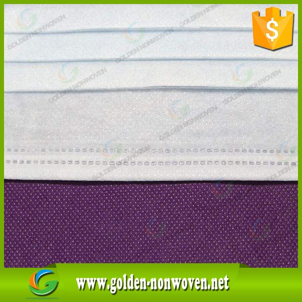 waterproof nonwoven fabric/recycling textile products/disposable mask raw material non woven