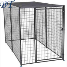 Large outdoor wholesale welded wire mesh panel dog cage/galvanized dog run fence/ hot sale cheap dog kennel