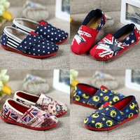 China Wholesale Fashion All Star Canvas Kid Shoe Soft Sole Children Shoes
