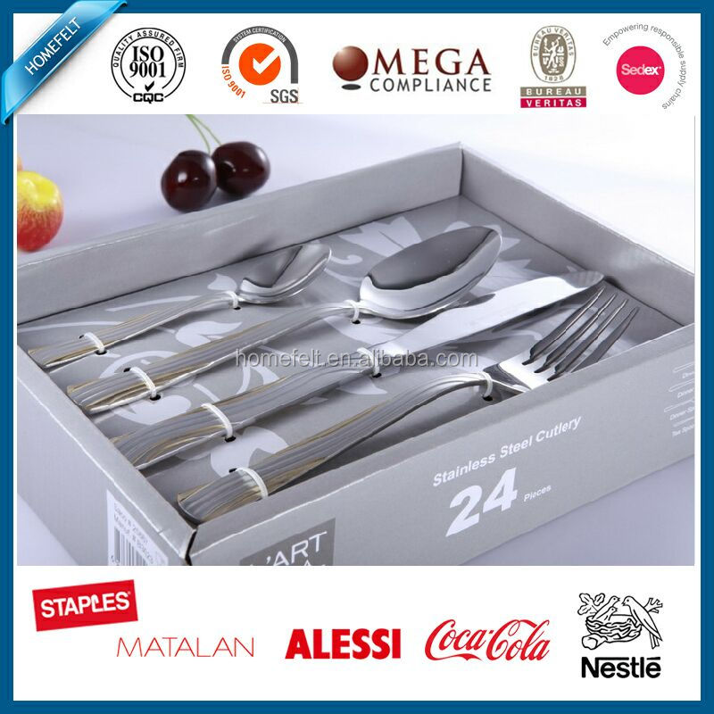 portable stainless steel travel cutlery