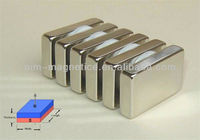 Turbines Electric Car Used Large N52 Neodymium High Power Magnet Block