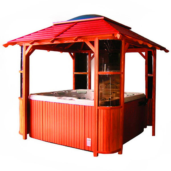 factory price wooden gazebo SR10D005(SR896)