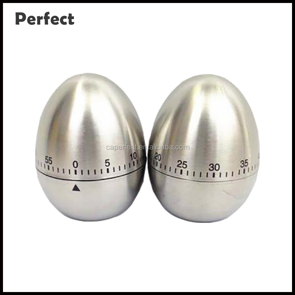 Alibaba hot products cheap price china manufacture stainless steel mechanical kitchen egg perfect timer