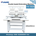 Fuwei 1502 2 heads computerized embroidery machines like tajima embroidery machine price