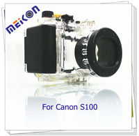 Professional waterproof camera case for CanonS100 to protect your camera underwater