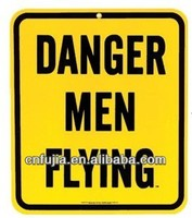 danger warning metal sign , customized tin signs