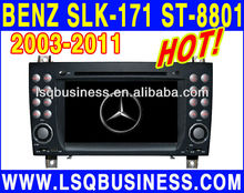 Car multimedia player for Benz(SLK-171)2004-2011 with GPS Camera subwoofer Bluetooth MP4 IPOD MP3 player,ST-8801