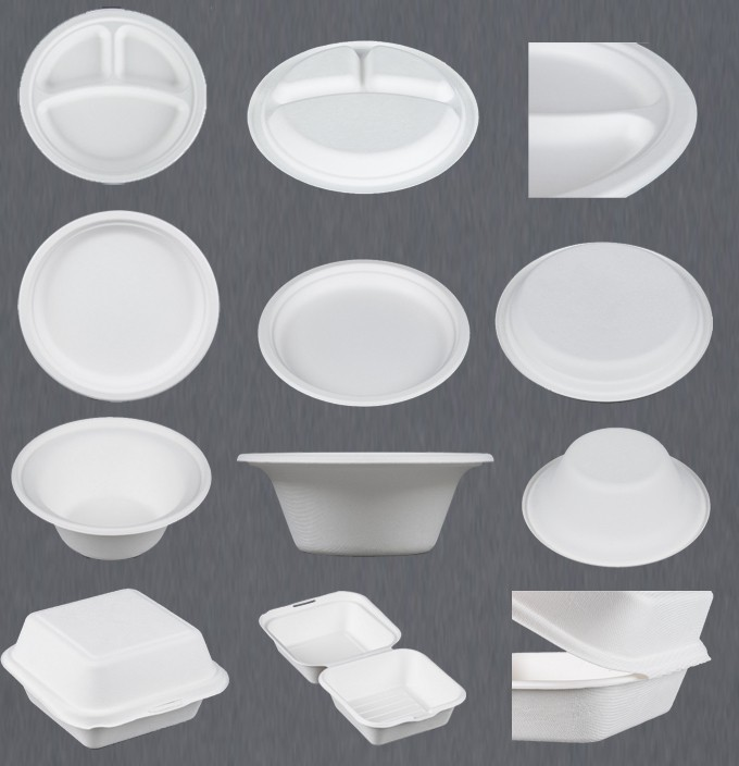 Biodegradable Vacuum Forming Paper Plate Machine / Food Container Production Line  sc 1 st  Guangzhou Nanya Pulp Molding Equipment Company - Alibaba & Biodegradable Vacuum Forming Paper Plate Machine / Food Container ...