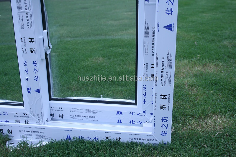 Huazhijie stylish noise reduction plastic sliding window